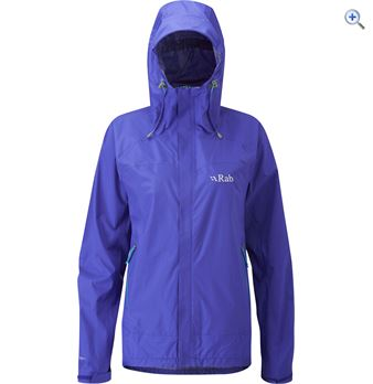 Rab Fuse Womens Waterproof Jacket  Size 8  Colour Lapis