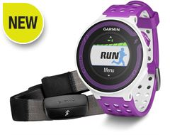 Forerunner 220 with Premium Heart Rate Monitor (White/Violet)