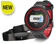 Forerunner 220 with Premium Heart Rate Monitor (Black/Red)