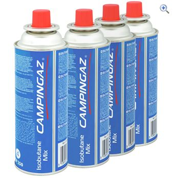 Image of Campingaz CP250 Gas Cartridge (Pack of 4)