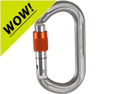 Wall Micro Oval Screwgate Carabiner