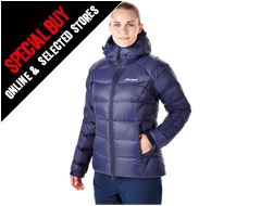 Popena Hooded Women's Down Jacket