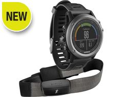 fenix 3 Grey Performance Bundle