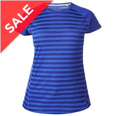 Women's Stripe SS Crew Baselayer