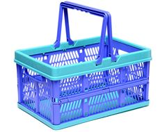 Medium Folding Basket with Handle