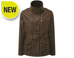 Figsbury Belted Wax Jacket