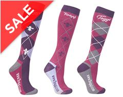 Chestermere Ladies' Socks (3 Pack)