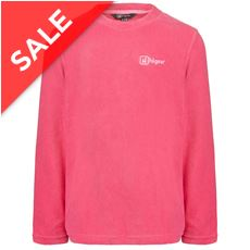 Fern Girls' Microfleece Crew