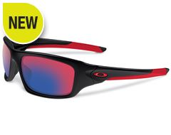 Valve Sunglasses (Polished Black/Positive Red Iridium)