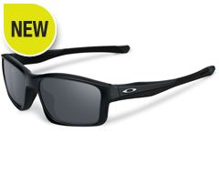 Chainlink Sunglasses (Polished Black/Black Iridium)
