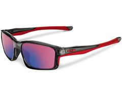 Polarised Chainlink Sunglasses (Grey Smoke/00 Red Iridium Polarised)