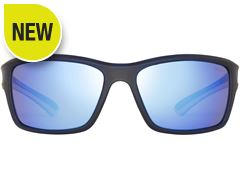 Cayo Sunglasses (Dark Blue/Blue Revo)