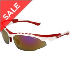 Crane Sunglasses  (White/Red Revo)