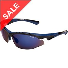 Crane Sunglasses  (Black/Blue Revo)