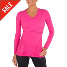 'Ultimate Body Support' Compression Long Sleeved Top