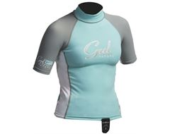 Girl's Junior Rashguard Short Sleeve