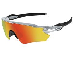 Radar EV Path Sunglasses (Silver/Fire Iridium)