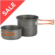Hard Anodised 2-Person Cook Kit