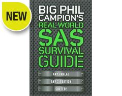 'Big Phil Campion's SAS Survival Guide' Book