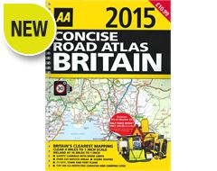 Concise Road Atlas Britain 2015