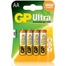 Ultra Alkaline Batteries (4 x AA)