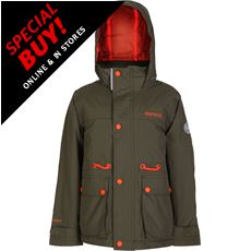 Starship Kids' Waterproof Insulated Jacket