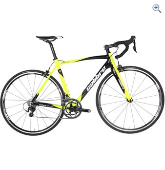 Calibre Nibiru 2.0 Full Carbon Road Bike - Size: 59 - Colour: Black / Yellow