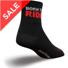 "Born To Ride Socks (Classic 3"")"