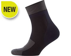 Thin Ankle Length Sock with Hydrostop