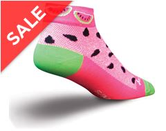 "Watermelon Women's Socks (Classic 3"")"