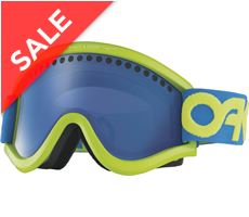 E-Frame Goggles (Factory Pilot Retina Blue/Black Ice Iridium)