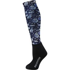 Women's Over the Calf Peddies Boot Socks (Printed)