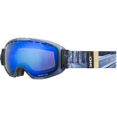 Mohawk Ski Goggles (Clear Matte Blue/Double Red Revo Vent. & Double Orange Vent.)