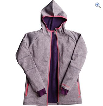 Harry Hall Whiston Womens Powerstretch Hoody  Size 18  Colour Aubergine Purple