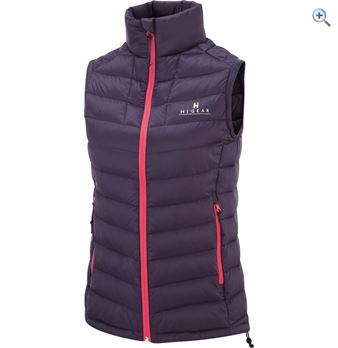 Hi Gear Womens Packlite Down Gilet  Size 10  Colour Aubergine Purple