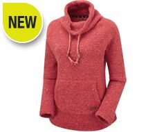 Roskilde Funnel Neck Knitted Fleece Top