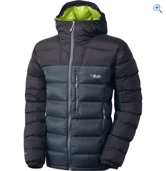 Rab Infinity Endurance Mens Hydrophobic Down Jacket  Size XL  Colour Black