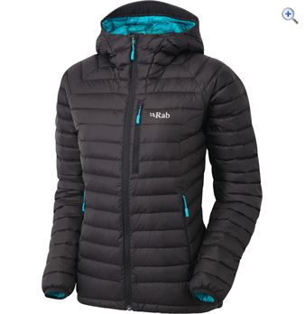 Rab Microlight Alpine Womens Jacket  Size 18  Colour Black