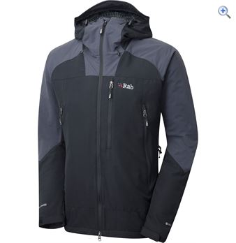 Rab Vapourrise Guide Softshell Jacket  Size M  Colour Black