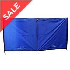 3 Pole Steel Windbreak
