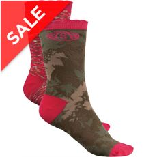 Olive Olivia Women's Socks (2 Pair Pack)