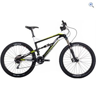 Calibre Bossnut Mountain Bike - Size: 17 - Colour: Black - White