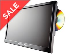"Vision Plus 18.5"" Portable Digital LED TV & DVD Player"