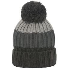 Men's Picton Multi Stripe Knit Bobble Hat