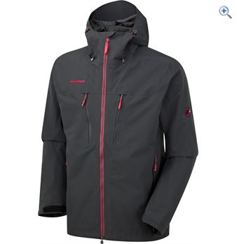 Mammut Trovvet Mens Waterproof Jacket  Size XXL  Colour Graphite