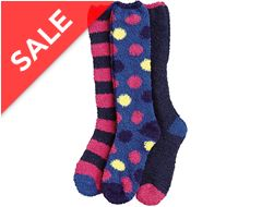 Junior Soft Touch Knee High Socks (3 Pack)
