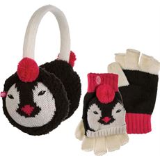 Flumserberg Kids' Flip Mitt and Earmuff Gift Set