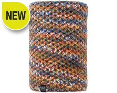 Knitted & Polar Fleece Neckwarmer Buff® (Margo Orange)