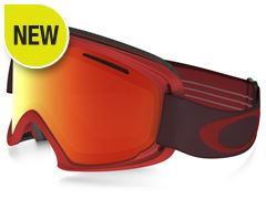 O2 XL Goggles (Red/Fire Iridium)