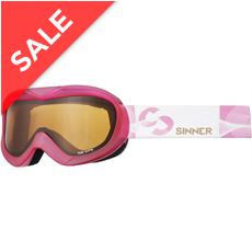 Task Ski Goggles (Clear Matte Pink/Double Orange)